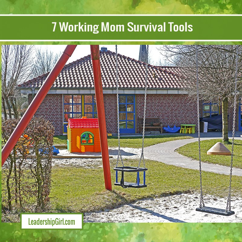 7 Working Mom Survival Tools