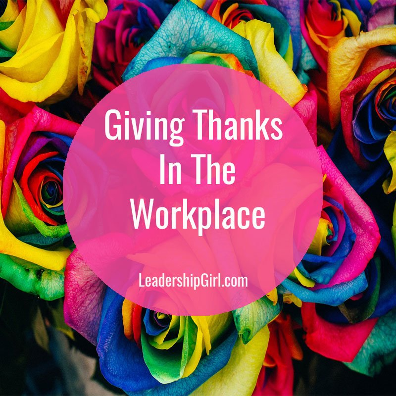 Giving Thanks In The Workplace