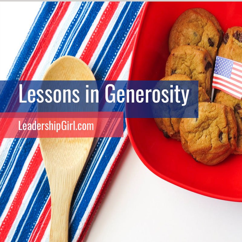 Lessons in Generosity