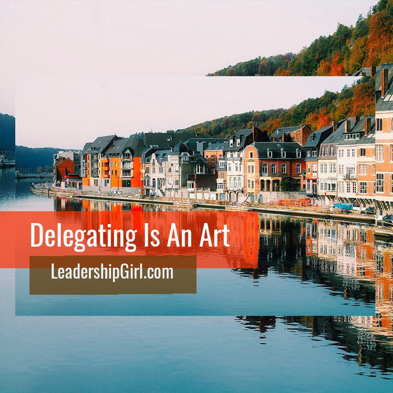 Delegating Is An Art