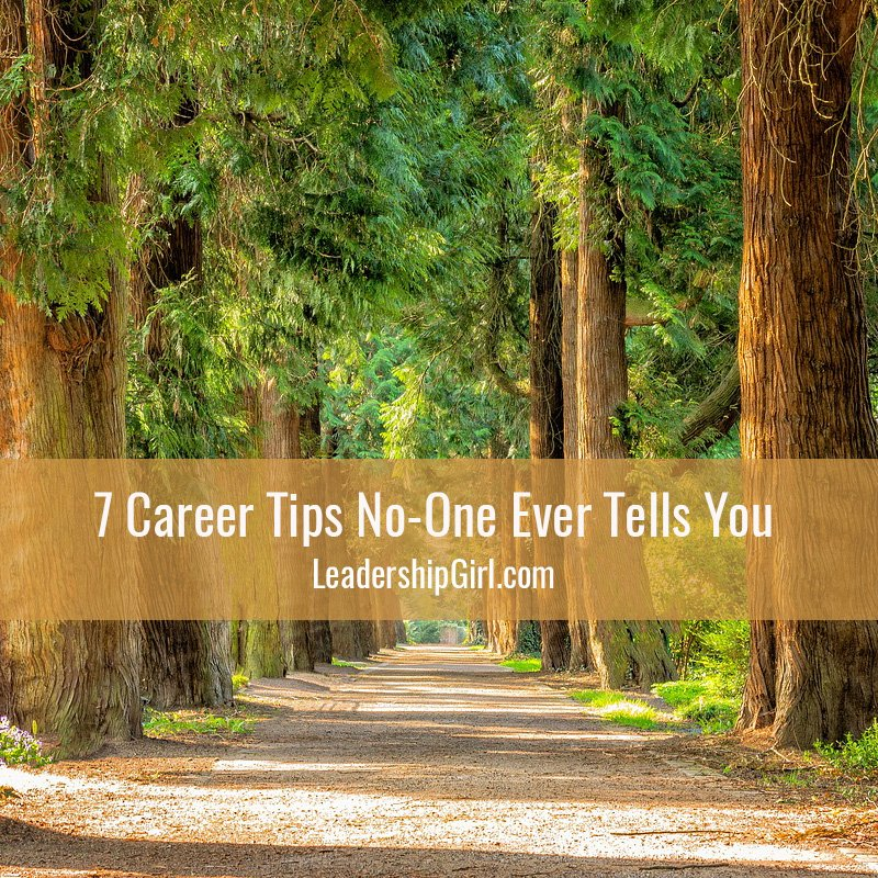 7 Career Tips No-One Ever Tells You