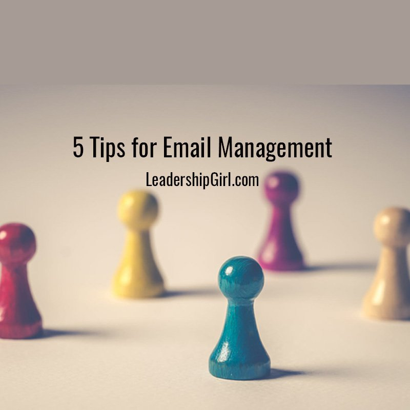 5 Tips for Email Management