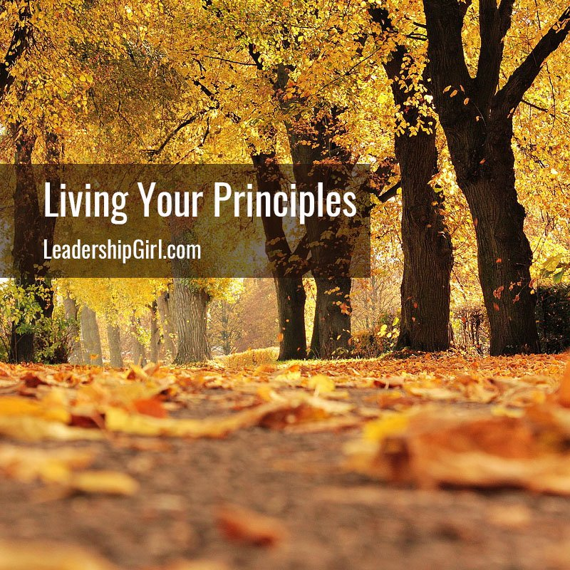 Living Your Principles