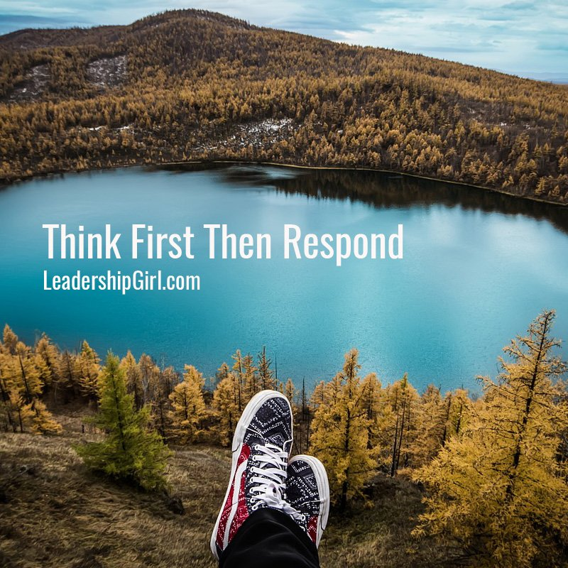 Think First Then Respond