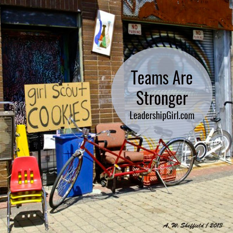 Teams Are Stronger