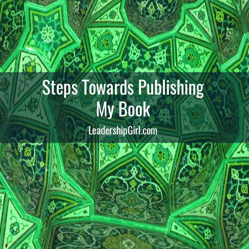 Steps Towards Publishing My Book
