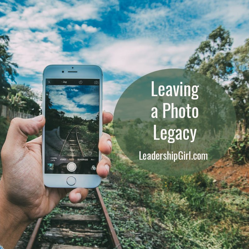 Leaving a Photo Legacy