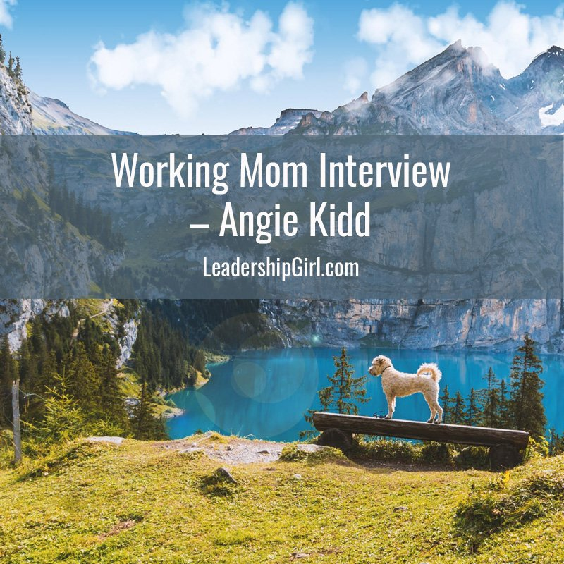 Working Mom Interview – Angie Kidd