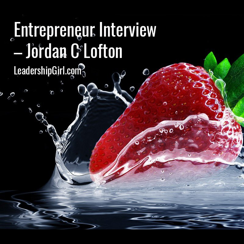Entrepreneur Interview – Jordan C Lofton