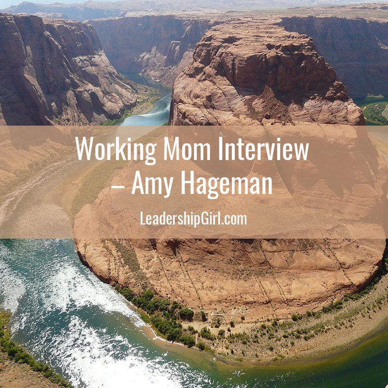 Working Mom Interview – Amy Hageman