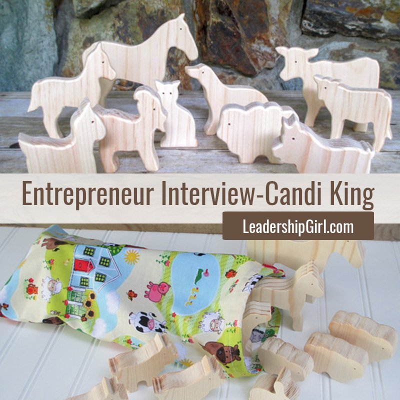 """Entrepreneur Interview - Candi King"" Wooden Toys"