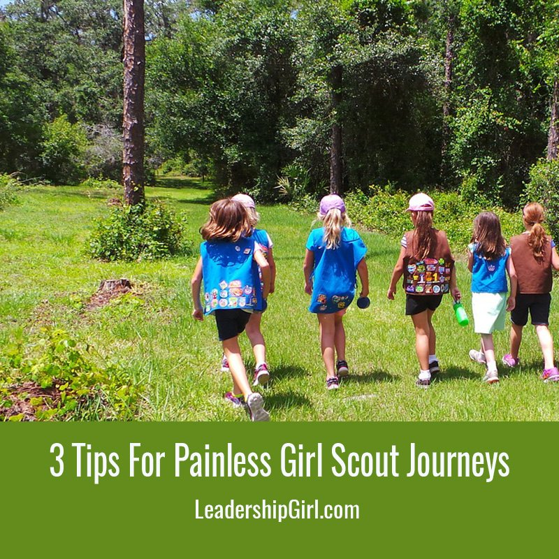 3 Tips For Painless Girl Scout Journeys
