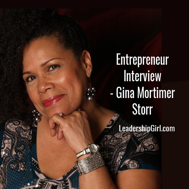 Entrepreneur Interview – Gina Mortimer Storr