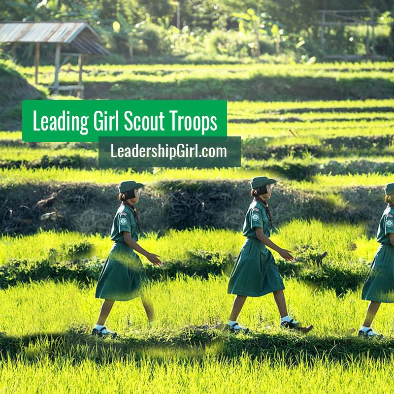 Leading Girl Scout Troops