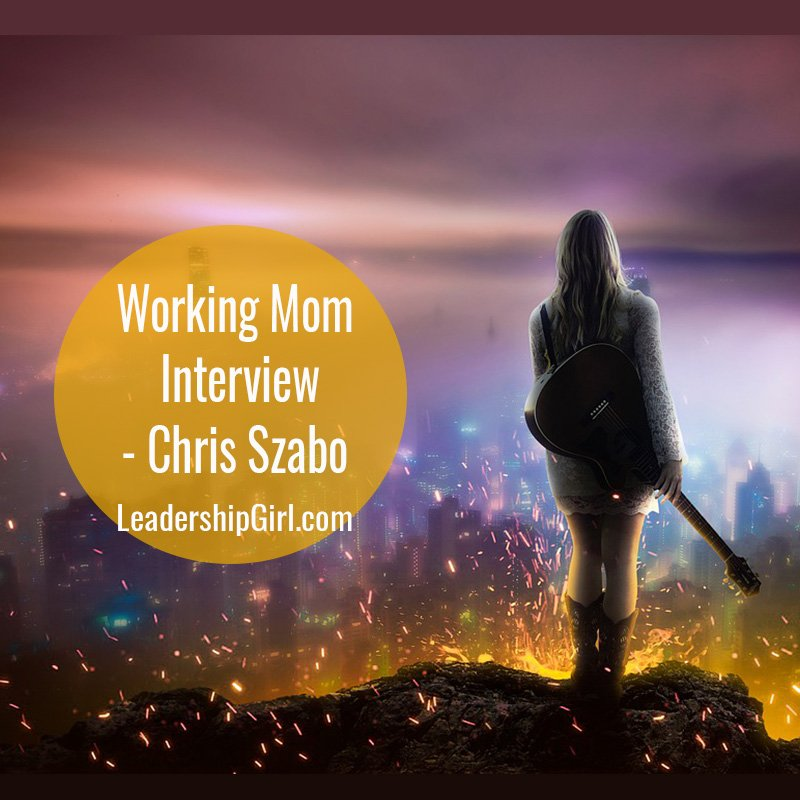 Working Mom Interview – Chris Szabo