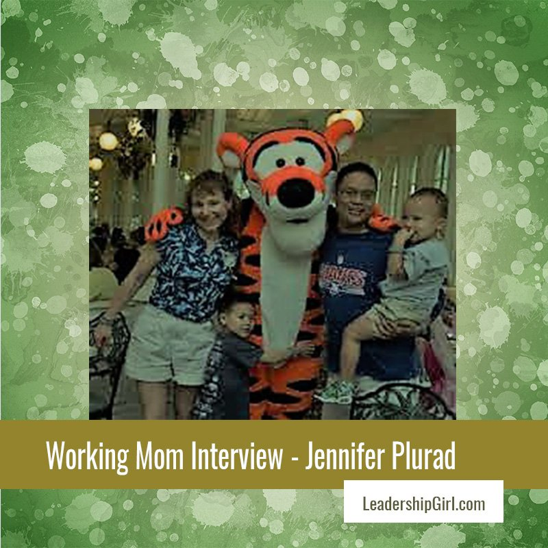 Working Mom Interview – Jennifer Plurad