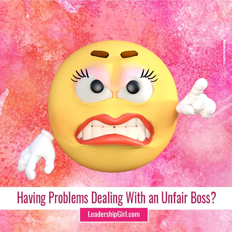 """Having Problems Dealing With an Unfair Boss?"" Angry Emoji with Lipstick and Lashes"