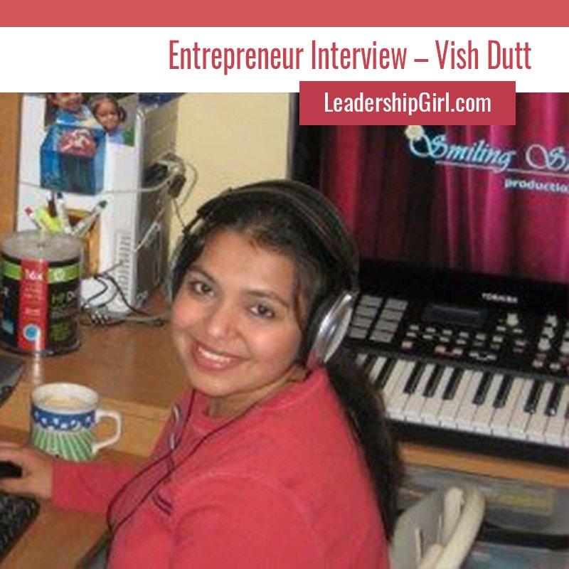 """Entrepreneur Interview – Vish Dutt"" Vish Dutt"