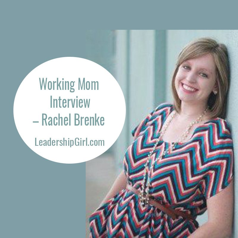 Working Mom Interview – Rachel Brenke