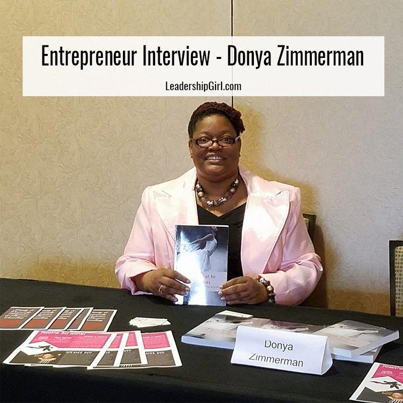 """Entrepreneur Interview - Donya Zimmerman"" Donya Zimmerman"
