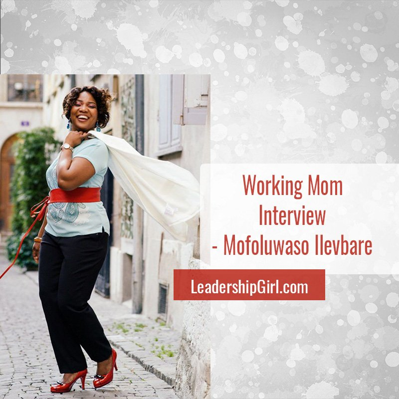"""Working Mom Interview - Mofoluwaso Ilevbare"" Mofoluwaso Ilevbare"