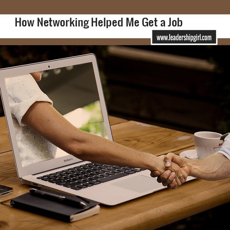 How Networking Helped Me Get a Job