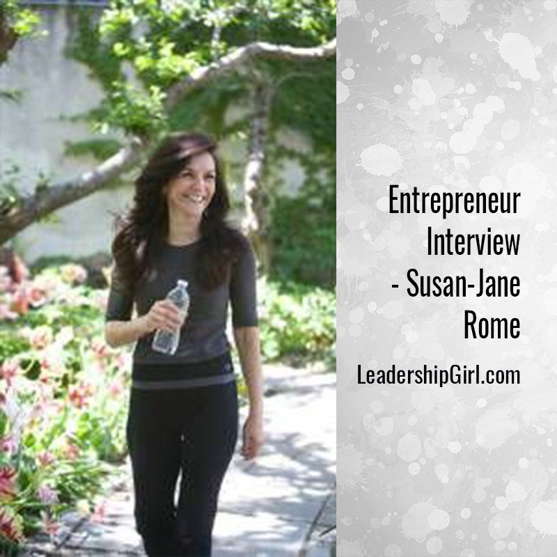Entrepreneur Interview – Susan-Jane Rome