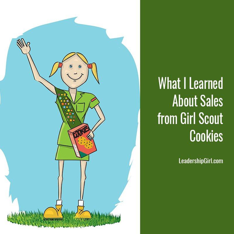 What I Learned About Sales from Girl Scout Cookies