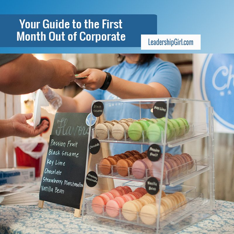 Your Guide to the First Month Out of Corporate