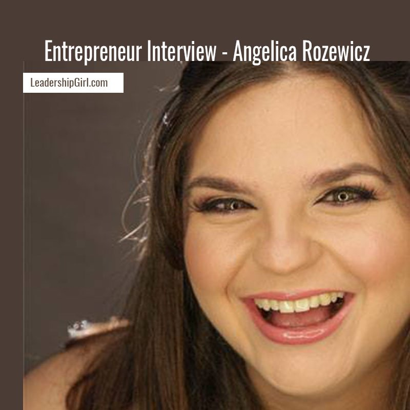 Entrepreneur Interview – Angelica Rozewicz