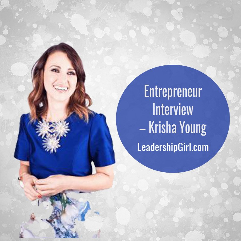"""""""Entrepreneur Interview - Krisha Young"""" Krisha Young"""