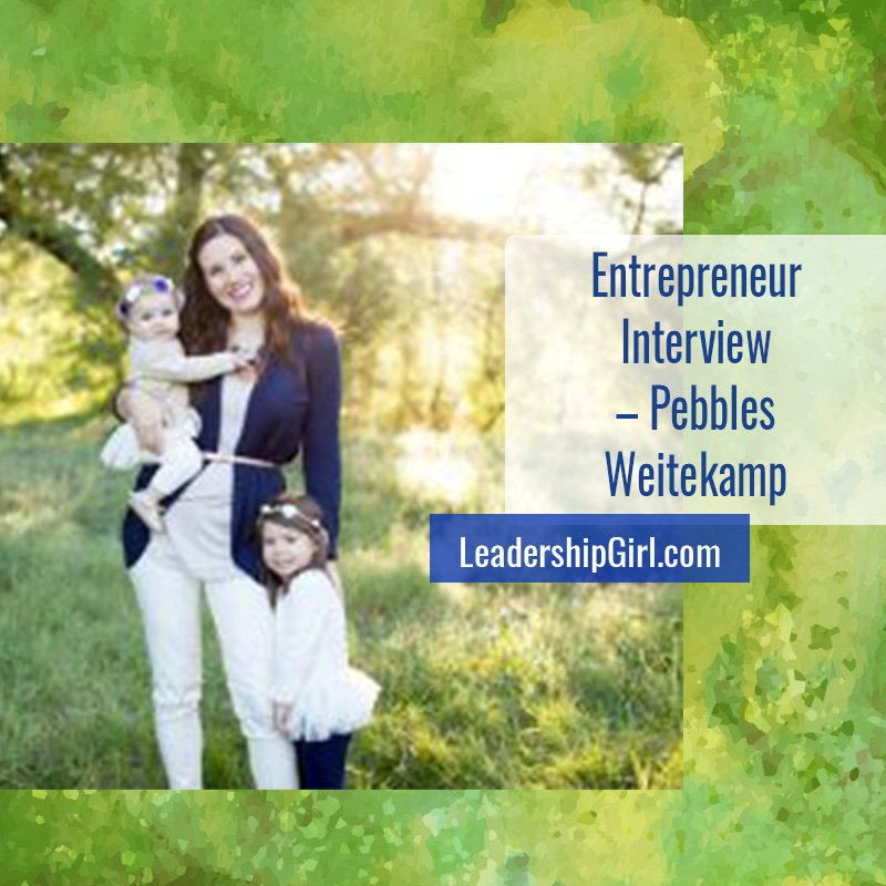 """Entrepreneur Interview - Pebbles Weitekamp"" Pebbles Weitekamp"