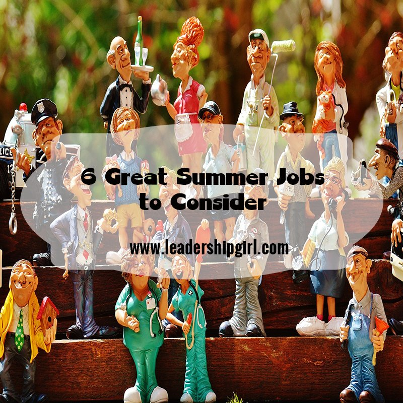 6 great summer jobs to consider