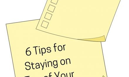 6 Tips for Staying on Top of Your Workload