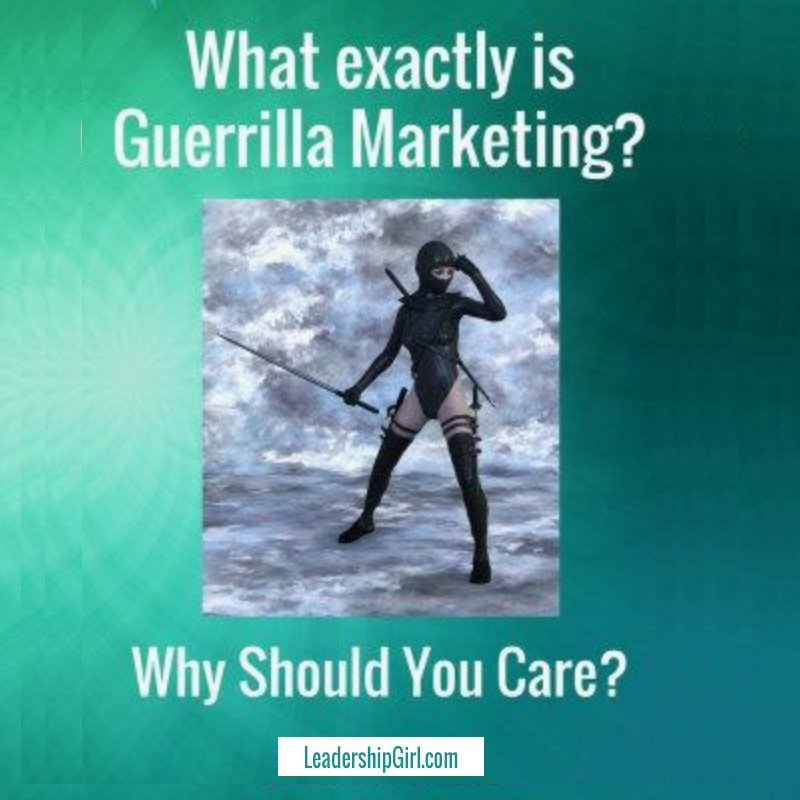 What in the World is Guerrilla Marketing?