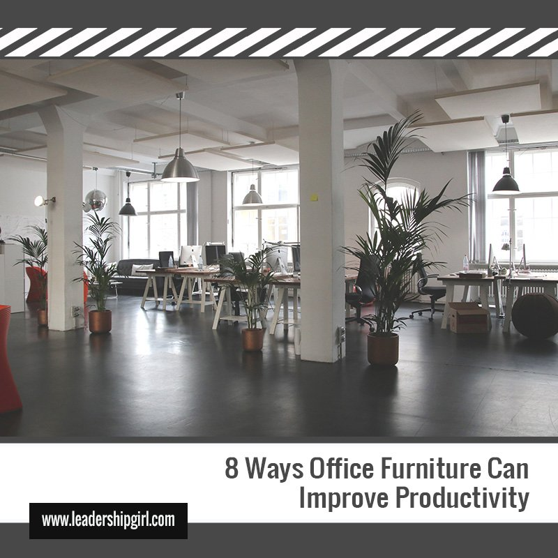 8 Ways Office Furniture Can Improve Productivity