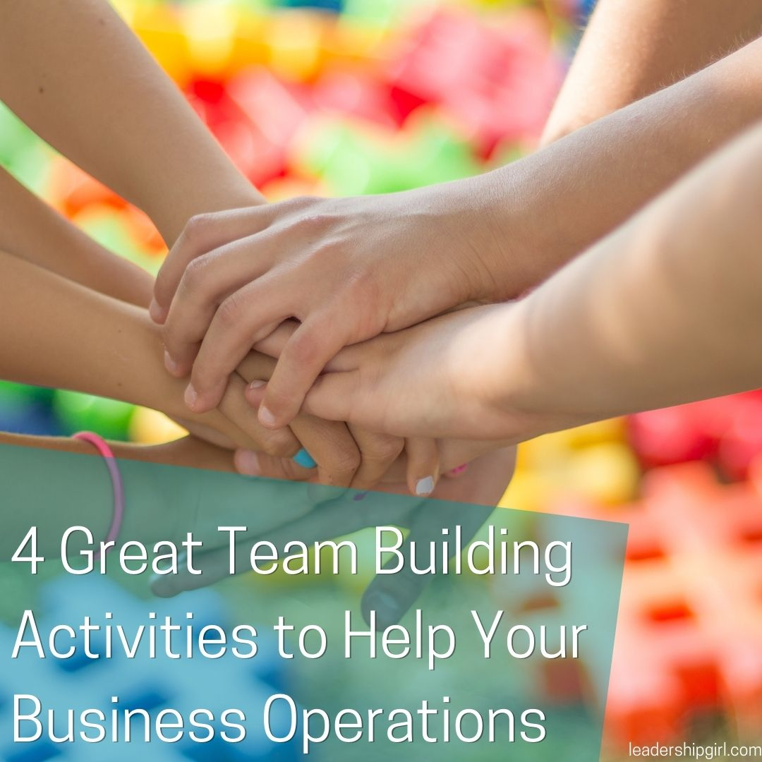 4 Great Team Building Activities to Help Your Business Operations