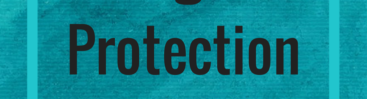 """""""Do I Need Legal Protection for My Website?"""" Blue Background"""