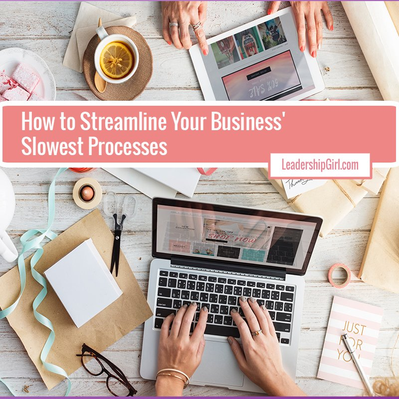 How to Streamline Your Business' Slowest Processes