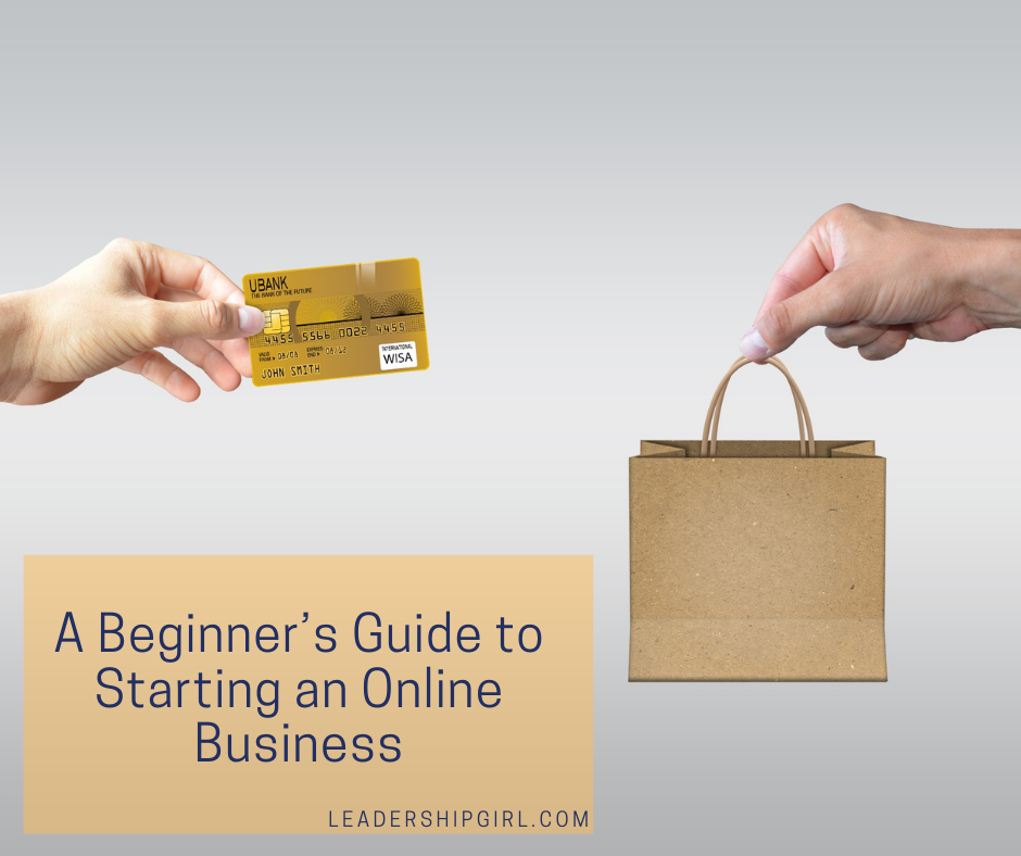 """ A Beginnner's Guide to Starting an Online Business"" Transaction"