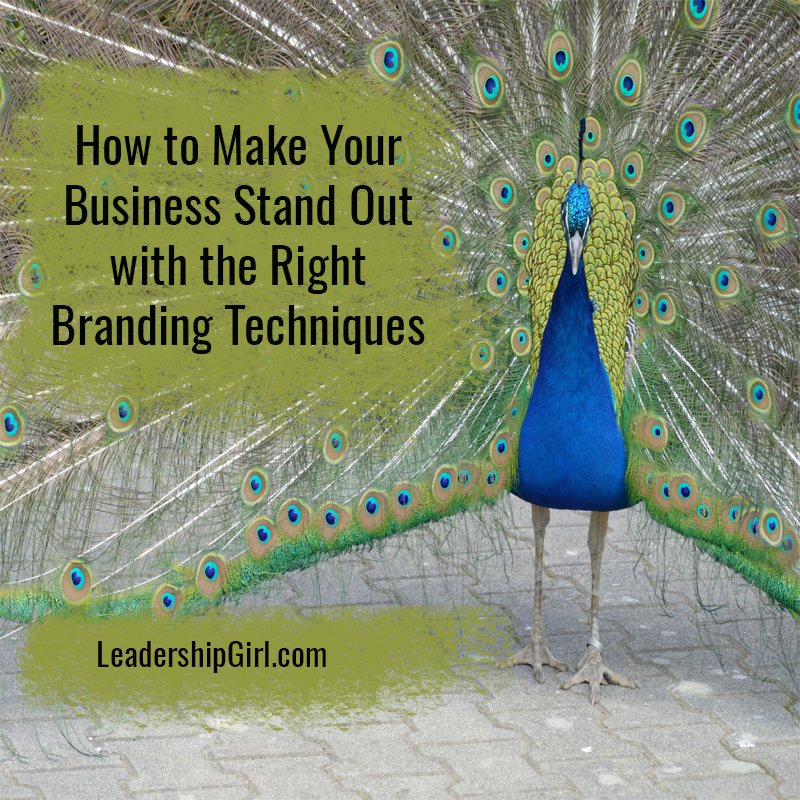 """How to Make Your Business Stand Out with the Right Branding Techniques"" Peacock"