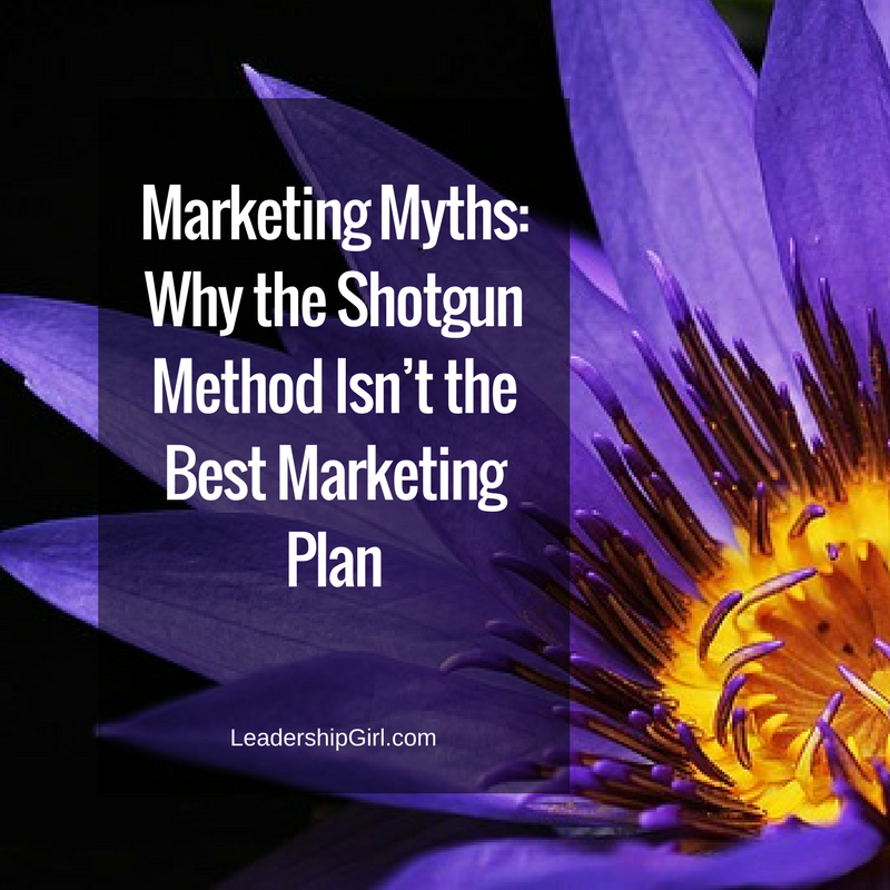 Marketing Myths: Why the Shotgun Method Isn't the Best Marketing Plan