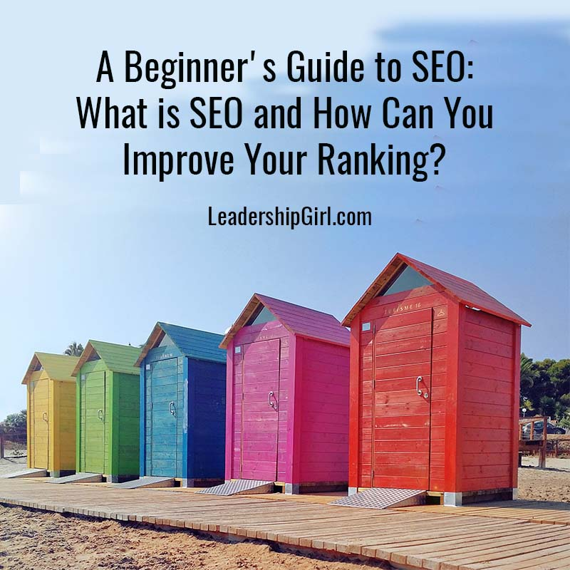 """A Beginner's Guide to SEO: What is SEO and How Can You Improve Your Ranking?"" Colorful Sheds"