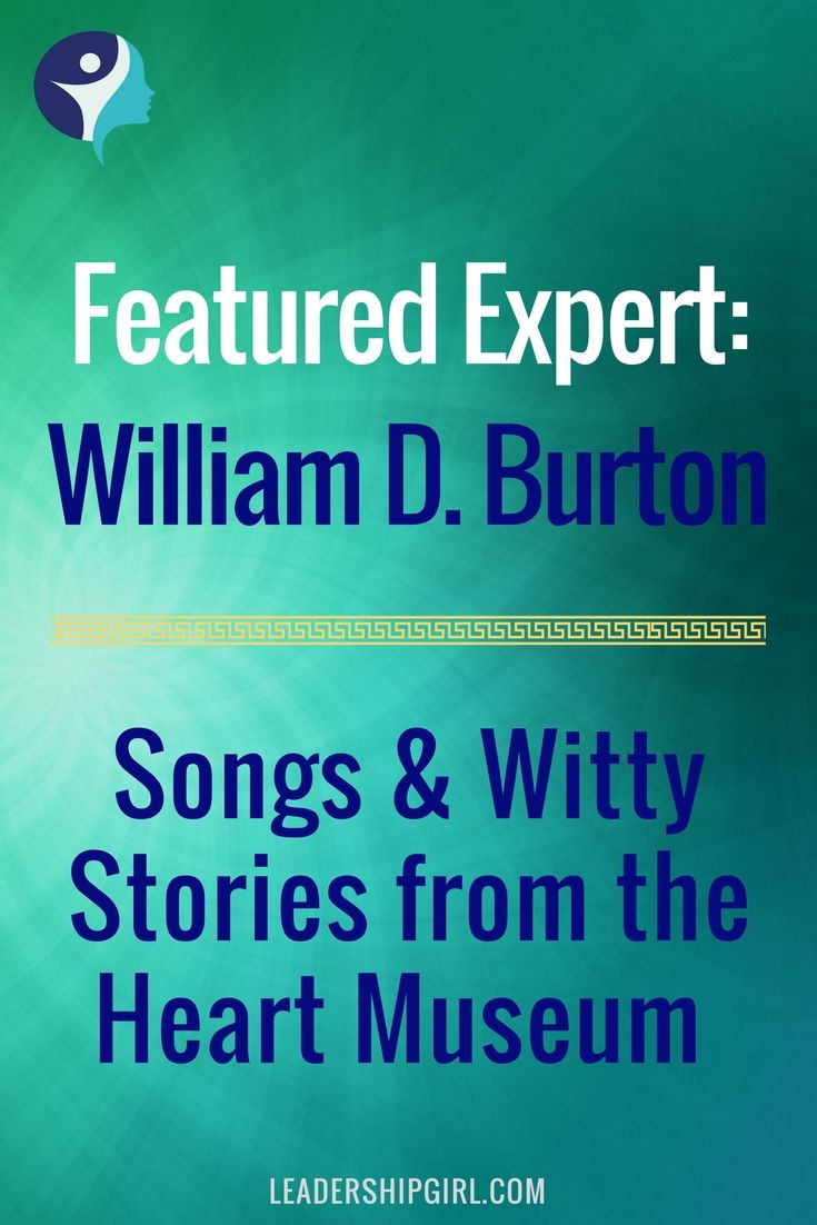 William D. Burton featured expert.
