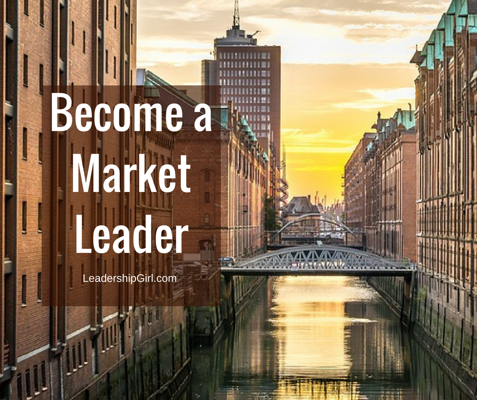 """Become a Market Leader"" Cityscape"