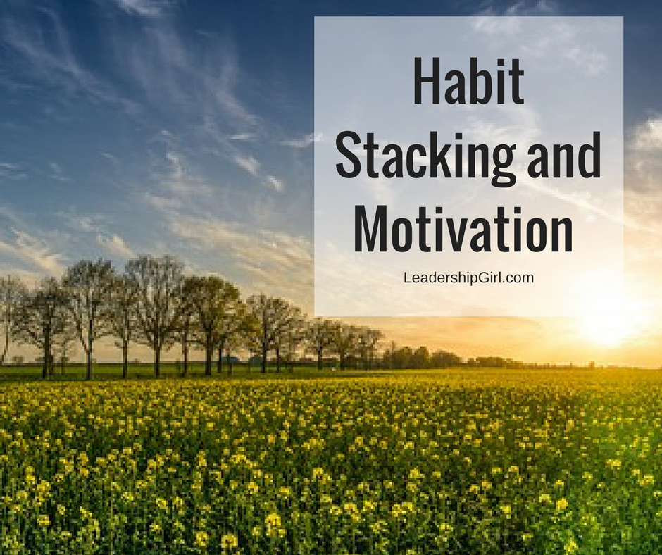 """Habit Stacking and Motivation"" Yellow Field"