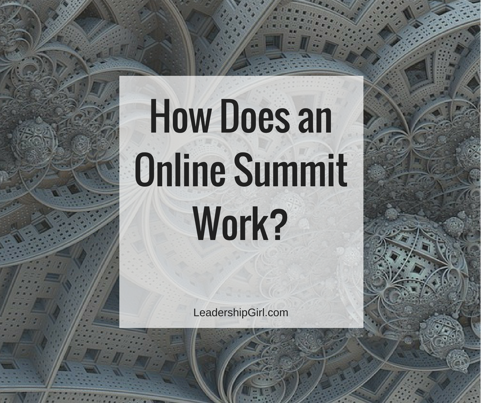 How Does an Online Summit Work?