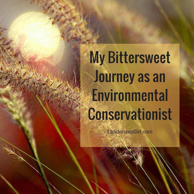 My Bittersweet Journey as an Environmental Conservationist