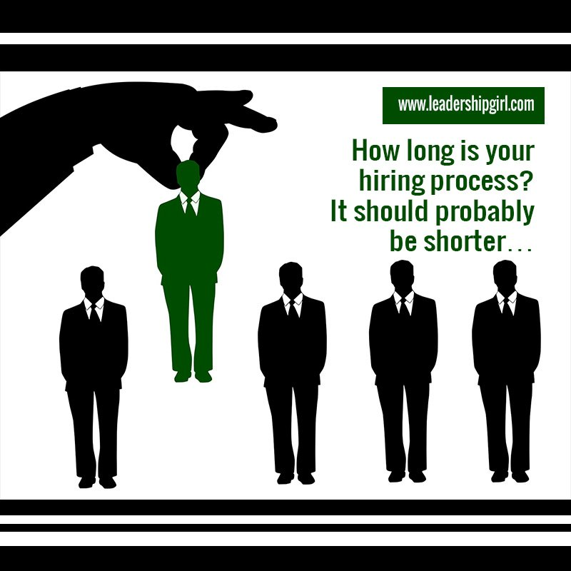 How Long is Your Hiring Process? It Should Probably be Shorter