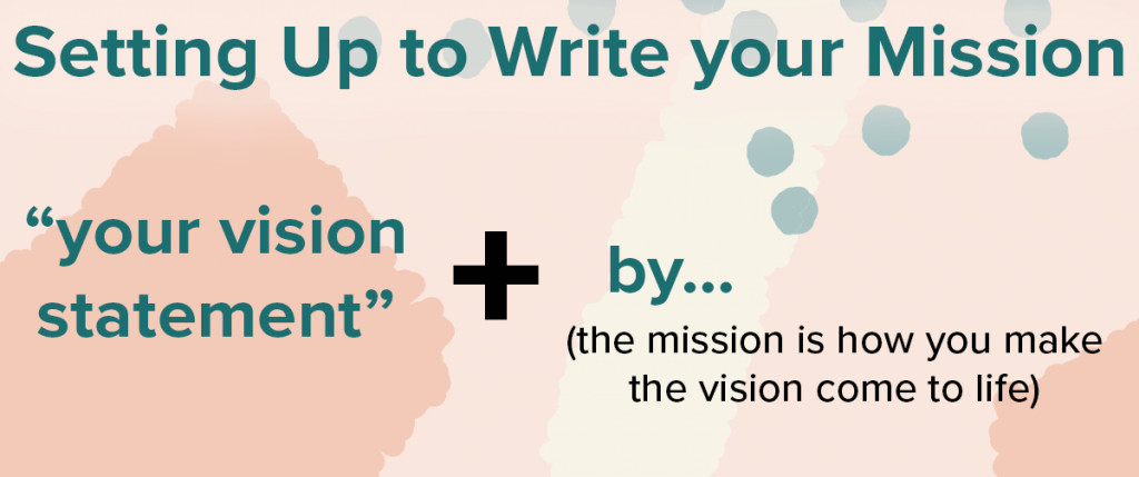 How to Write your Vision & Mission for Success in your Business 6